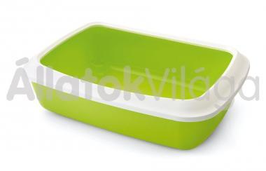 Savic Iriz + rim cicawc kerettel fehér - zöld 42x31x12,5 cm-es 0263