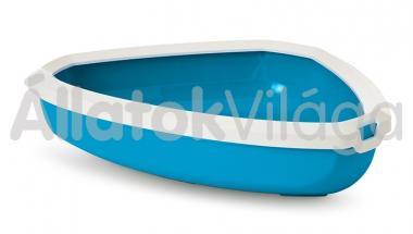 Savic Rincon sarok cicawc fehér - kék 58,5x39x12,5 cm-es 2017