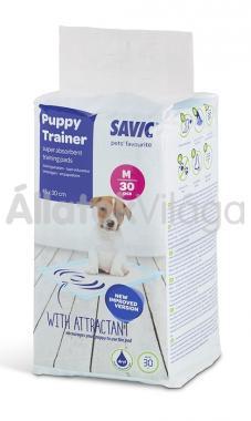 Savic Puppy Trainer Medium kutya pelenka közepes 45x30 cm-es 30 db-os 3243