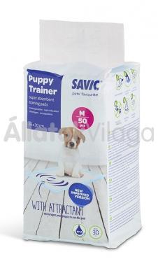 Savic Puppy Trainer Medium kutya pelenka közepes 45x30 cm-es 50 db-os 3247