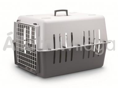 Savic Pet Carrier 4 szállító box szürke 15 kg-ig 66x47x43 cm-es 3267