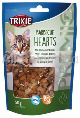 Trixie Premio Barbecue Hearts csirke szív 50 g-os 42703