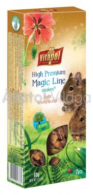 Vitapol Magic Line Smakers degu rúd fa kéreggel 2 db-os 90 g-os