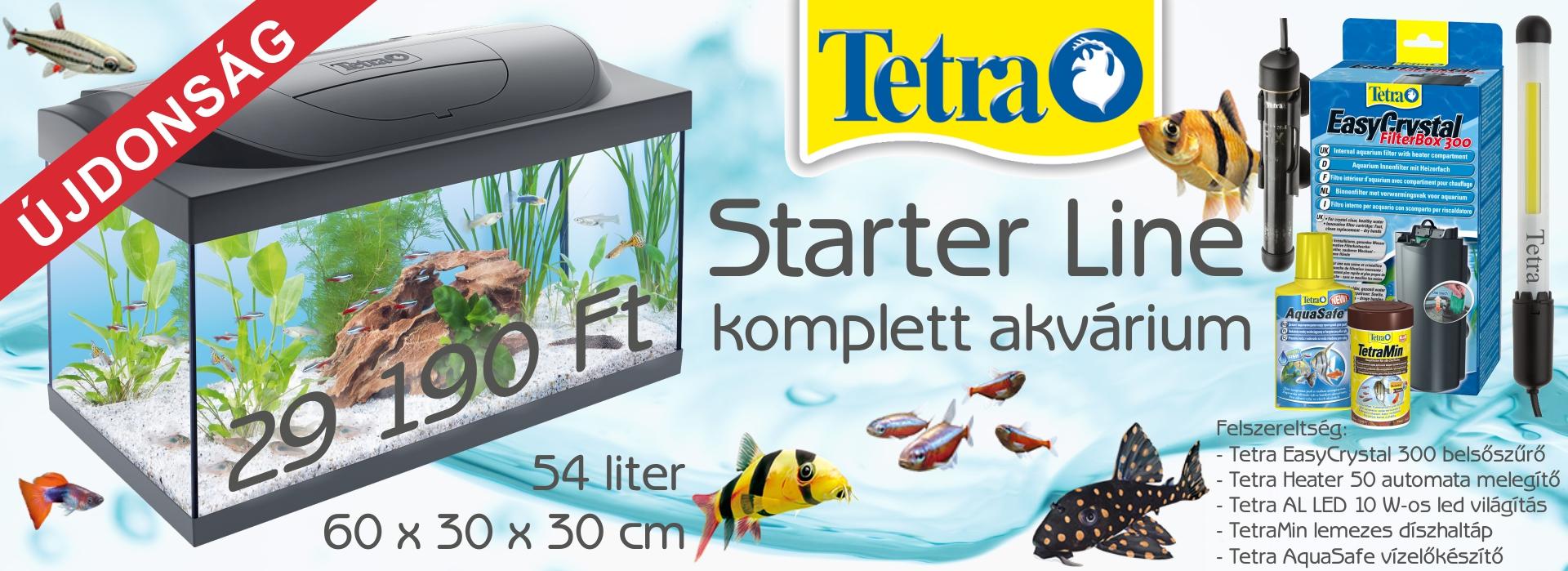 Tetra Starter Line